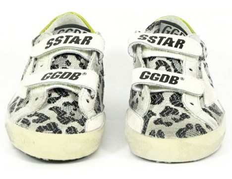 Golden Goose Superstar OLD SCHOOL Viola Leopard