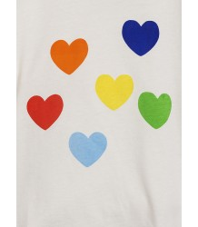 Mini Rodini RAINBOW LOVE SP SS Tee Mini Rodini RAINBOW LOVE SP SS Tee