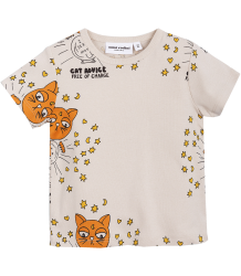 Mini Rodini CAT ADVICE SS Tee Mini Rodini CAT ADVICE SS Tee