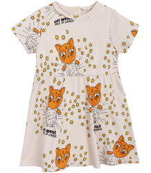Mini Rodini CAT ADVICE SS Dress Mini Rodini CAT ADVICE SS Dress