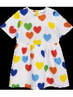 Mini Rodini RAINBOW LOVE Woven Dress Mini Rodini RAINBOW LOVE Woven Dress