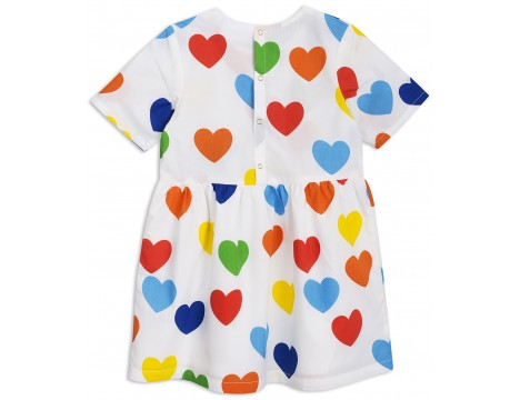 Mini Rodini RAINBOW LOVE Woven Dress
