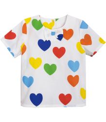 Mini Rodini RAINBOW LOVE Woven Blouse Mini Rodini RAINBOW LOVE Woven Blouse