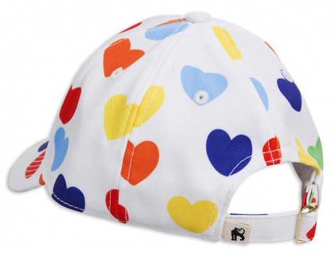 Mini Rodini RAINBOW LOVE Cap