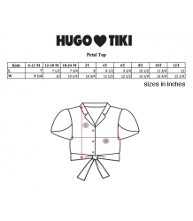 Hugo Loves Tiki Tie Crop Top STRIPES Hugo Loves Tiki Tie Crop Top STRIPES