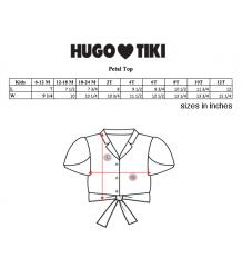 Hugo Loves Tiki Tie Crop Top STRIPES Hugo Loves Tiki Tie Crop Top STRIPES
