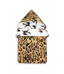 Mini Rodini LEOPARD / HORSE Sleeping Nest Mini Rodini LEOPARD / HORSE Sleeping Nest