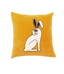 Mini Rodini RABBIT Velvet Cushion Cover Mini Rodini RABBIT Velvet Cushion Cover