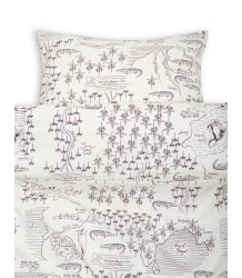 Mini Rodini CROCO MAP Bed Set Mini Rodini CROCO MAP Bed Set