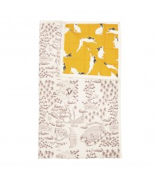 Mini Rodini RABBIT / CROCO MAP Bedspread Mini Rodini RABBIT / CROCO MAP Bedspread