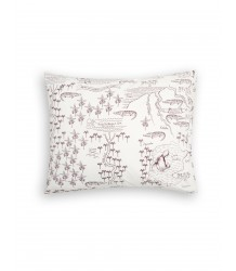 Mini Rodini CROCO MAP Pillowcase Mini Rodini CROCO MAP Pillowcase