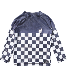 Munster Kids CHECKER Dye Rashie Top Munster Kids CHECKER Dye Rashie Top