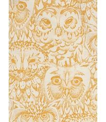 Soft Gallery Muslin (Pack of 3) Aop OWL Gold Soft Gallery hydrofielluier (Pak van 3) GOLDEN GLOW