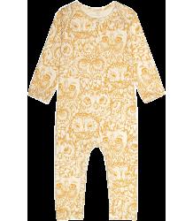 Soft Gallery Ben Bodysuit Aop OWL Gold Soft Gallery Ben Bodysuit golden owl