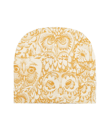 Soft Gallery Beanie Aop OWL Gold  Soft Gallery Beanie GOLDEN GLOW