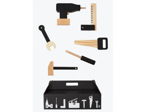 Design Letters Tool School - Wooden Play Set
