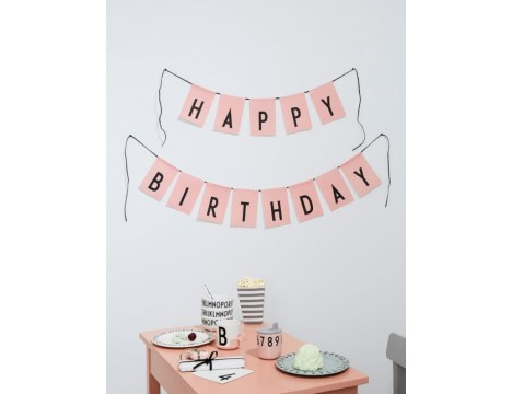 Design Letters HAPPY BIRTHDAY Flags