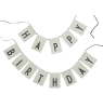 Design Letters HAPPY BIRTHDAY Flags Design Letters HAPPY BIRTHDAY Flags green