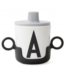 Design Letters Drink Lid Design Letters Drink Lid grey