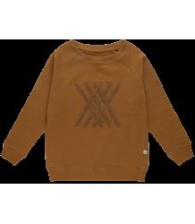 Repose AMS Classic Sweater LOGO Repose AMS Classic Sweater LOGO sun brown logo