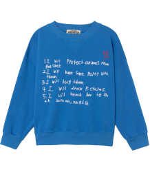 Bobo Choses W.I.M.A.M.P. Blue Sweatshirt Bobo Choses W.I.M.A.M.P. Blue Sweatshirt