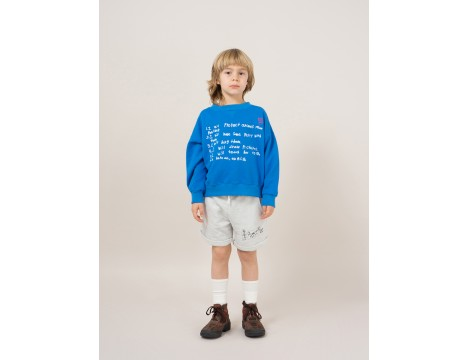 Bobo Choses W.I.M.A.M.P. Blue Sweatshirt