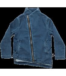 Nununu Denim Side Zip Jacket Nununu Denim Side Zip Jacket