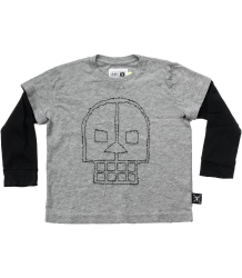 Nununu Embroidered SKULL T-shirt LS Nununu Embroidered SKULL T-shirt LS