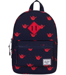 Herschel Heritage Backpack Kid Herschel Heritage Backpack Kid peacoat shaka