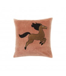 Mini Rodini HORSE Velvet Cushion Cover HORSE Velvet Cushion Cover
