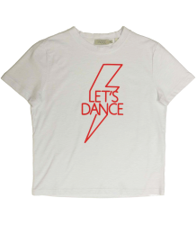 INDEE Dolce LET'S DANCE T-shirt INDEE Dolce LET'S DANCE T-shirt white