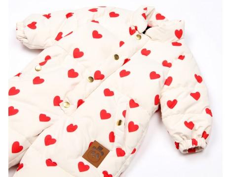 Mini Rodini Heart Baby Overall