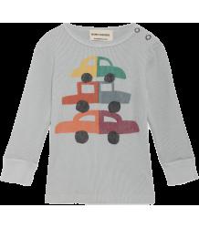 Bobo Choses Baby T-shirt Rib CARS Bobo Choses Baby T-shirt Rib CARS