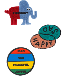 Bobo Choses PATCHES (Pack of 3) Bobo Choses Pack of 3 Patches