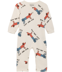 Bobo Choses CATS AND DOGS LS Playsuit Bobo Choses CATS AND DOGS LS Playsuit