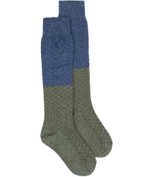 Bobo Choses COLOURBLOCK Long Socks Bobo Choses BLUE And GREEN Long Socks