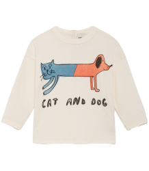 Bobo Choses Baby T-shirt LS CAT AND DOG Bobo Choses Baby T-shirt LS CAT AND DOG