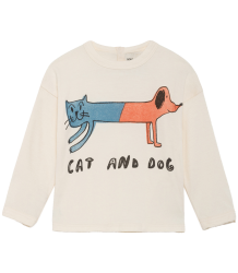 Bobo Choses T-shirt LS CAT AND DOG Bobo Choses T-shirt LS CAT AND DOG