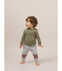 Bobo Choses Baby Leggings STRIPES  Bobo Choses Baby Leggings RED STRIPES