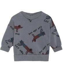Bobo Choses Baby Sweatshirt CATS AND DOGS Bobo Choses Baby Sweatshirt CATS AND DOGS
