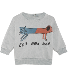 Bobo Choses Baby Sweatshirt CAT AND DOG Bobo Choses Baby Sweatshirt CAT AND DOG