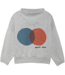 Bobo Choses Sweatshirt Rib Collar RED AND BLUE Bobo Choses Sweatshirt Rib Collar RED AND BLUE