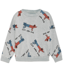 Bobo Choses Sweatshirt CATS AND DOGS Bobo Choses Sweatshirt LS CATS AND DOGS