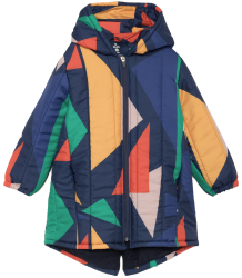 Bobo Choses GEOMETRIC Hooded Padded Anorak Bobo Choses GEOMETRIC Hooded Padded Anorak