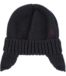 Bobo Choses Knitted Pluto Hat Bobo Choses Knitted Hat BLACK PLUTO