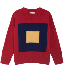 Bobo Choses Knitted Jumper MERINO SQUARES Bobo Choses Knitted Jumper MERINO SQUARES