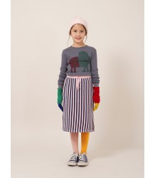 Bobo Choses Beanie RIB STRIPES Bobo Choses Beanie ROSE STRIPES