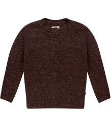 Repose AMS Knit Cardigan Round Neck  Repose AMS Knit Cardigan Round Neck warm pecan