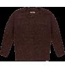 Repose AMS Knit Cardigan Round Neck  Repose AMS Knit Cardigan Round Neck warm pecan