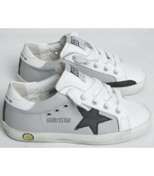 Superstar GREY Golden Goose Superstar white leather